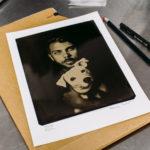 18x24 cm tintype